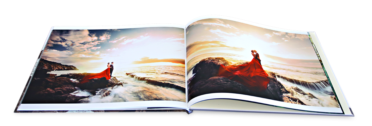 Photobook 3 Lớp Mở Phẳng
