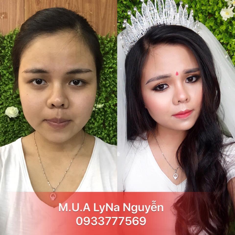 Top 7  tiệm trang điểm cô dâu đẹp nhất tại Vũng Tàu -  Lyna Nguyễn