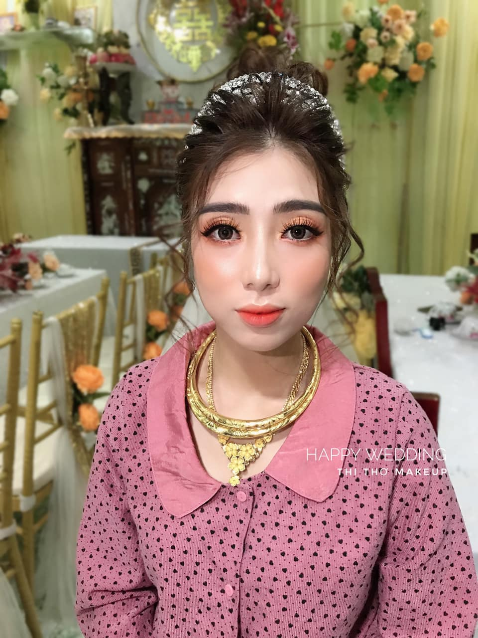 Top 7 tiệm trang điểm cô dâu đẹp nhất tại Tiền Giang -  Thi Thơ Makeup