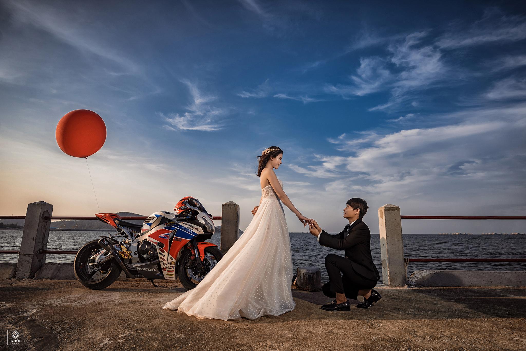 Top 11 Studio chụp ảnh cưới ngoại cảnh đẹp và chất lượng nhất TP. Vinh, Nghệ An -  Khói Studio