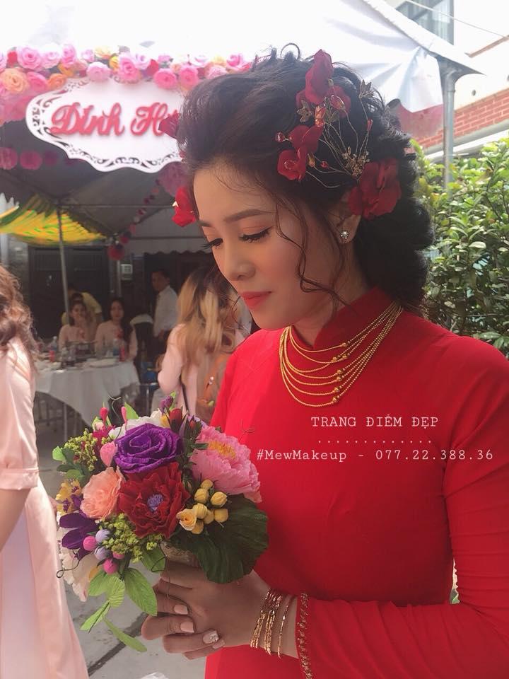 Top 7 tiệm trang điểm cô dâu đẹp nhất tại Nha Trang -  Mew MakeUp Art & Bridal Hair