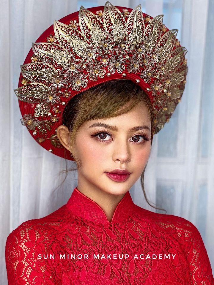 Top 7 tiệm trang điểm cô dâu đẹp nhất tại TP. Hồ Chí Minh -  SUN MINOR Makeup Academy