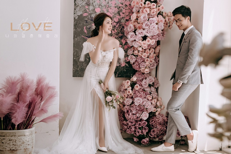 Xếp hạng 6 Studio chụp ảnh cưới phong cách Hàn Quốc đẹp nhất quận Tây Hồ, Hà Nội -  Áo Cưới Love Story