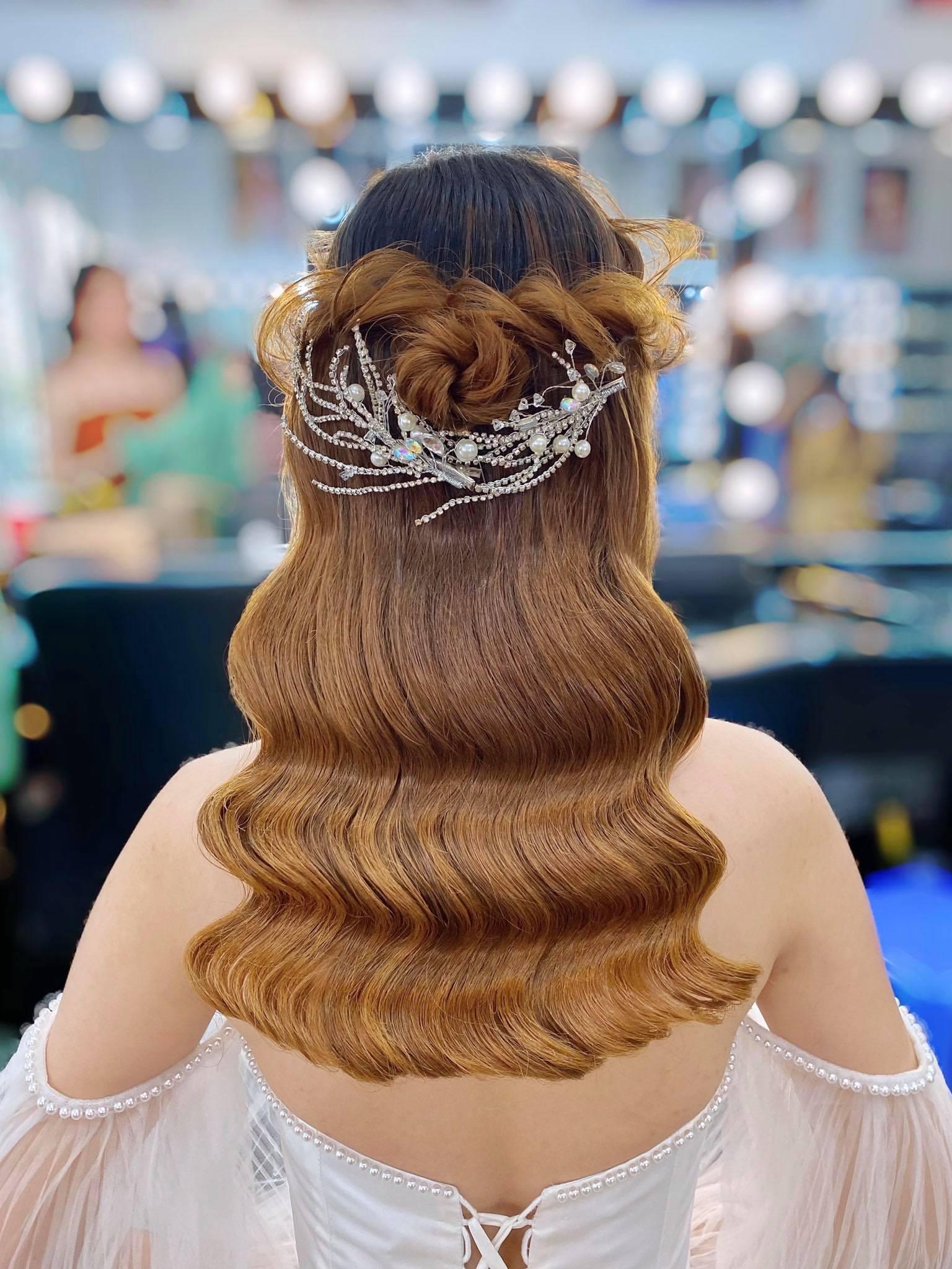 Top 7 tiệm trang điểm cô dâu đẹp nhất tại Đồng Tháp -  Thy Anh Make Up (Happy Studio)