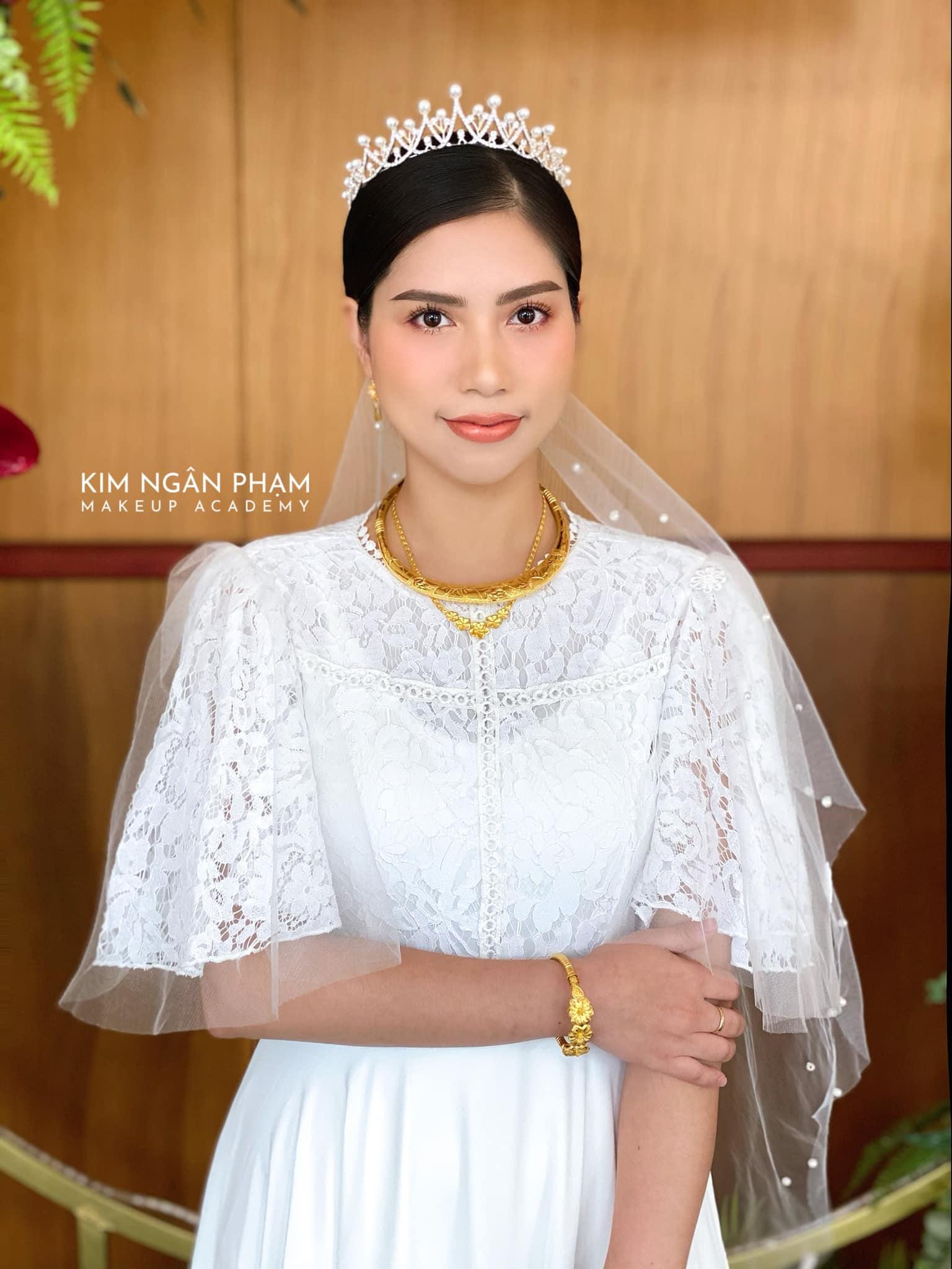Top 6 tiệm trang điểm cô dâu đẹp nhất tại Bình Dương -  Kim Ngân Phạm Make up