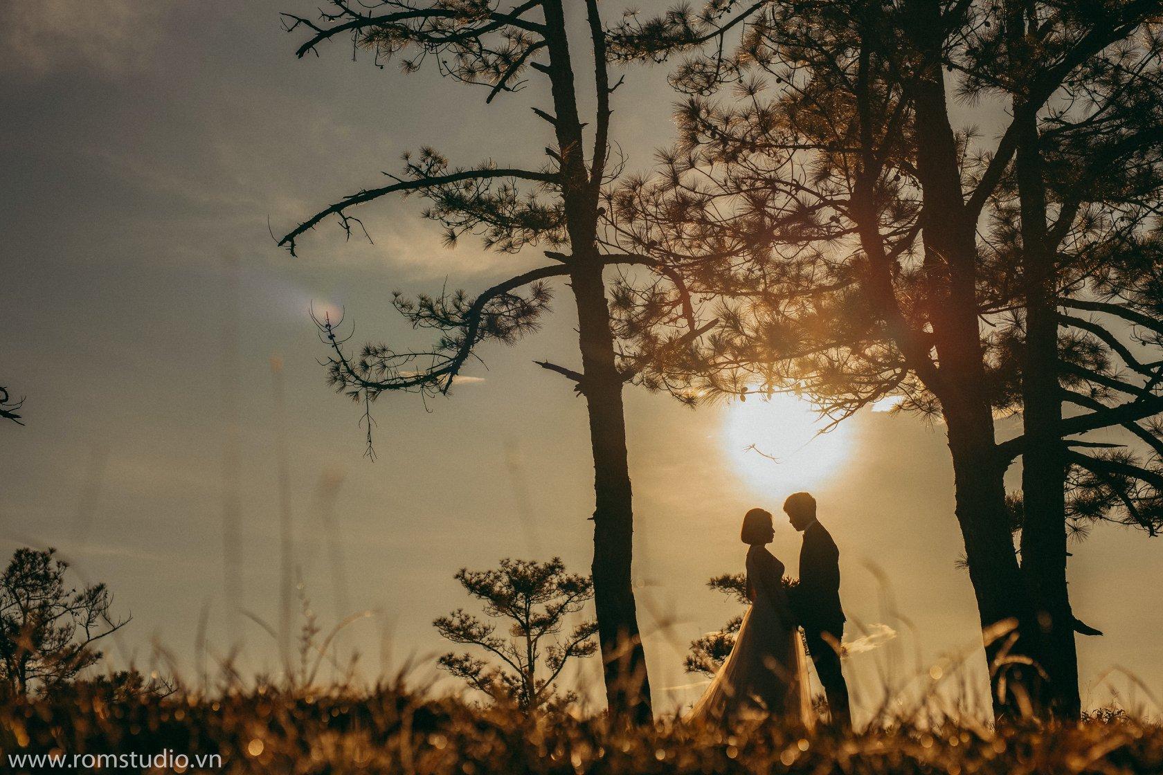 Xếp hạng 10 Studio chụp ảnh cưới đẹp nhất Đà Lạt - Ròm Studio