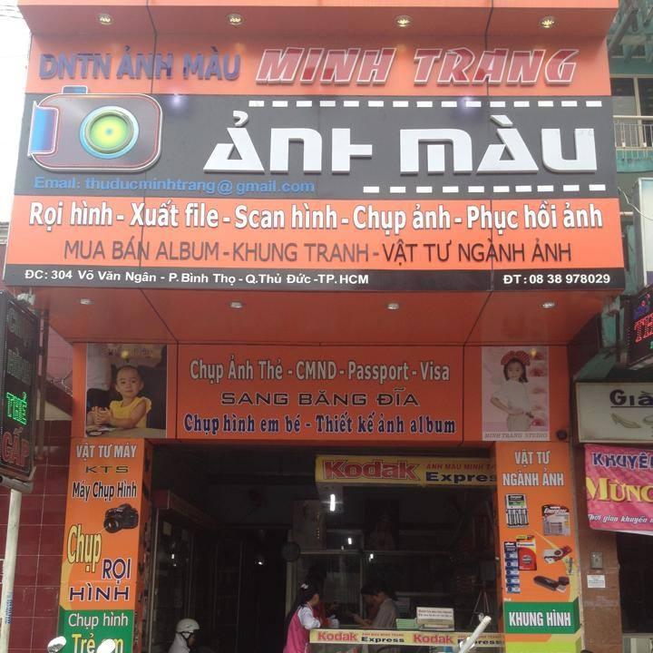 Xếp hạng Top 10 tiệm chụp ảnh thẻ đẹp nhất lấy liền ở TPHCM - Trung tâm ảnh màu Minh Trang